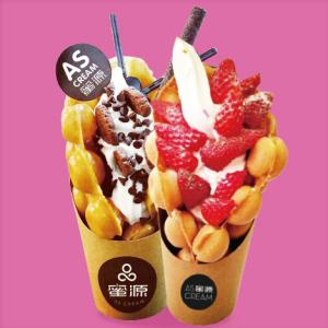 蜜源冰淇淋加盟图片