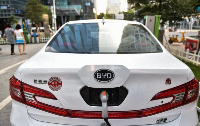 比亞迪新能源汽車加盟