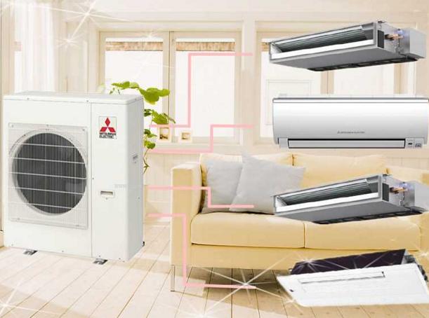 三菱中央空调加盟图片