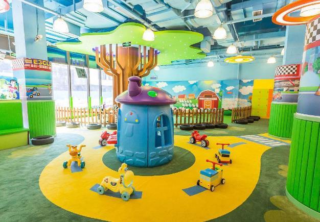 儿童游乐场加盟多少钱 爱乐游儿童乐园加盟费用