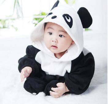 宝宝熊猫装