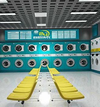 伊耐净自助洗衣店加盟图片
