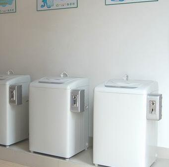 克林自助洗衣机加盟图片