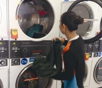 奇强自助洗衣机加盟图片