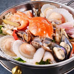 蒸太宮蒸汽石鍋魚海鮮火鍋