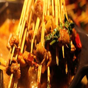 竹上签串串香火锅