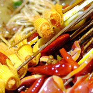 麻辣串串香火锅