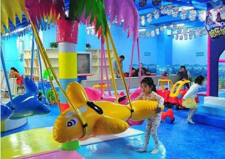 儿童运动馆加盟费多少钱