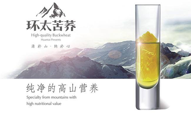 環太苦荞茶品牌形象