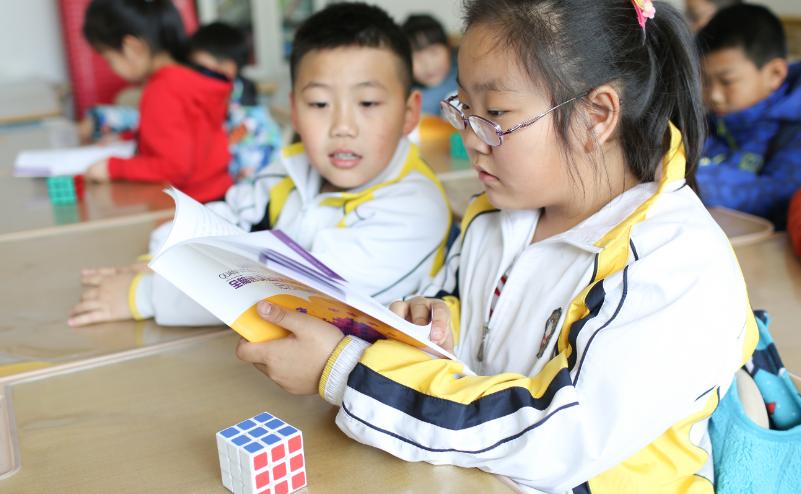 学生通过阅读掌握方法