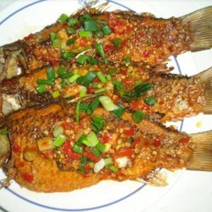 魚酷烤全魚