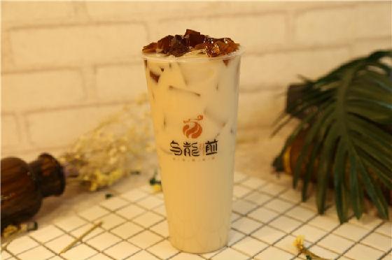 乌龙煎奶茶