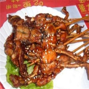 型男美蛙麻辣串串烤蛙