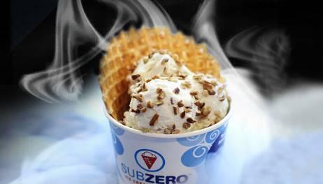 液氮冰淇淋深受消费者喜爱
