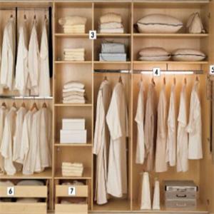定制衣柜90度衣柜加盟图片