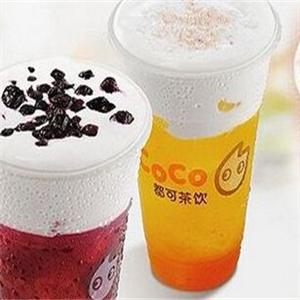 coco 奶茶加盟图片