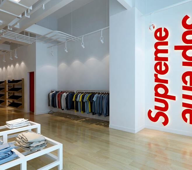 supreme服饰加盟图片