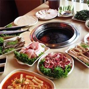 韩国中渝纸上烤肉加盟