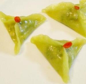 摺摺香水晶玉饺