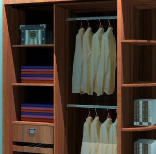 恒福利衣柜加盟图片