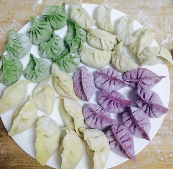 五彩水饺加盟图片