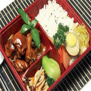 韩式快餐加盟