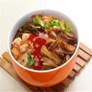 韩国烤肉拌饭