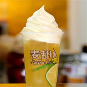 麦甜艾斯茶饮冰淇淋