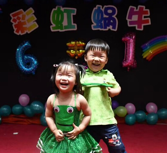 彩虹蜗牛素质教育加盟图片