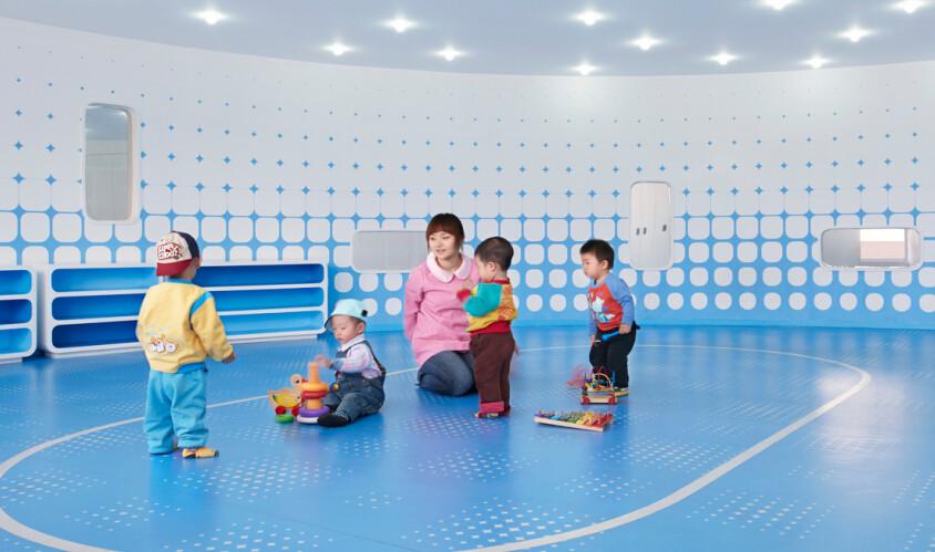 东方爱婴早教中心教室内部