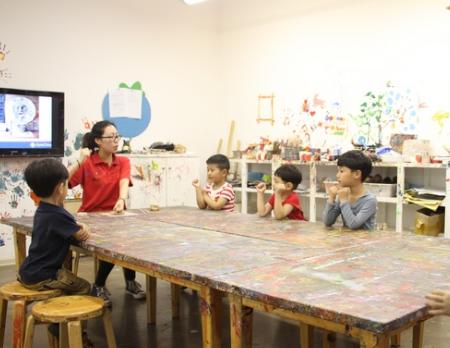 茄田美术中心加盟图片