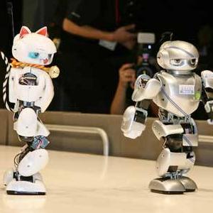 赛跑机器人加盟图片