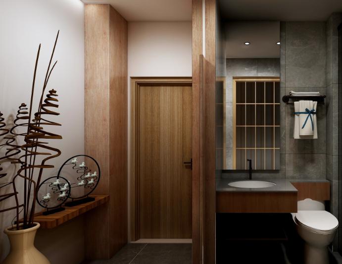 木山清芽日式酒店加盟图片