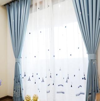米兰布艺窗帘加盟图片