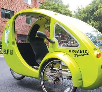 太阳能三轮车