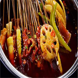口水留砂锅串串香加盟