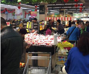 宽广超市加盟图片