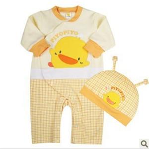 黄色小鸭婴童服加盟