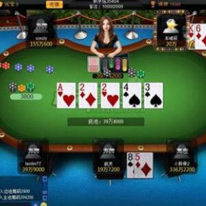 金牌德州扑克加盟图片