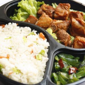 百佳旺中式快餐加盟图片