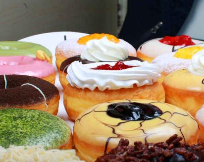 团子大家族甜甜圈加盟图片
