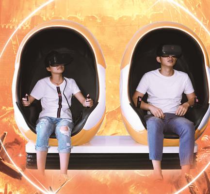 第八感VR主题乐园加盟图片