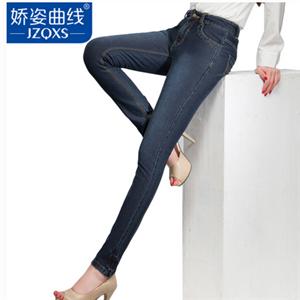 娇姿曲线牛仔裤加盟图片