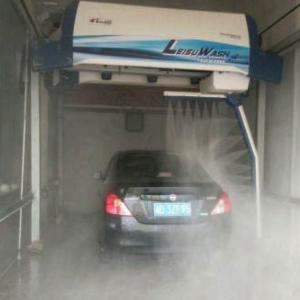 镭速360洗车机加盟图片