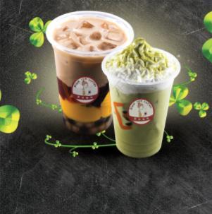 精灵奶茶加盟图片
