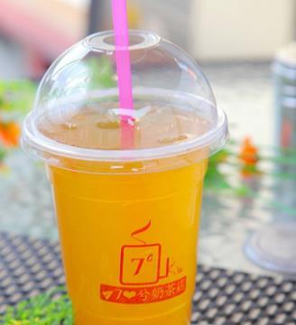 7兮奶茶店加盟图片