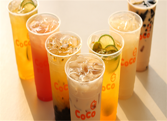 网红十大人气奶茶——coco