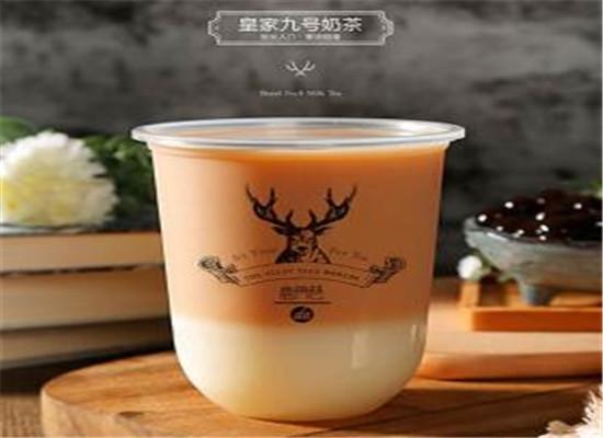 网红奶茶——鹿角巷