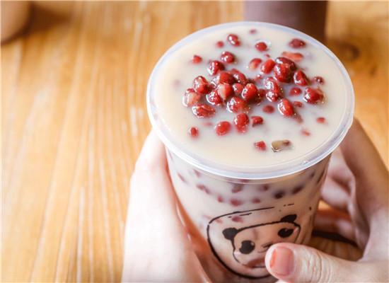 网红奶茶-红豆奶茶