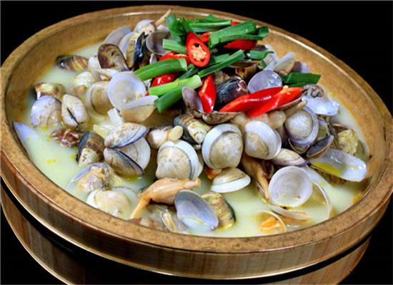 小海鲜——花蛤汤